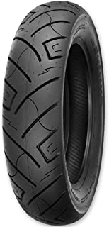 77H Slim White Wall for Harley-Davidson Road King Classic FLHRC//I 2004-2008 Dunlop Harley-Davidson D402 Rear Motorcycle Tire MU85B-16