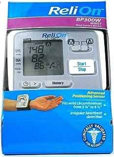 Best relion blood pressure monitor wrist Reviews