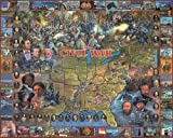 White Mountain Puzzles Civil War - 1000 Piece Jigsaw Puzzle