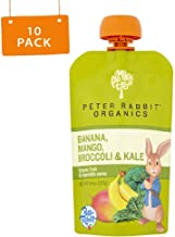 Peter Rabbit Organics Kale, Broccoli and Mango, 4.4-Ounce Pouches (Pack of 10)