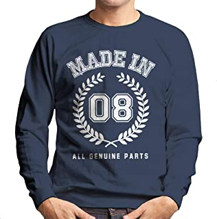 7feaed79d5ff Coto7 Made In 08 All Genuine Parts Men's Sweatshirt