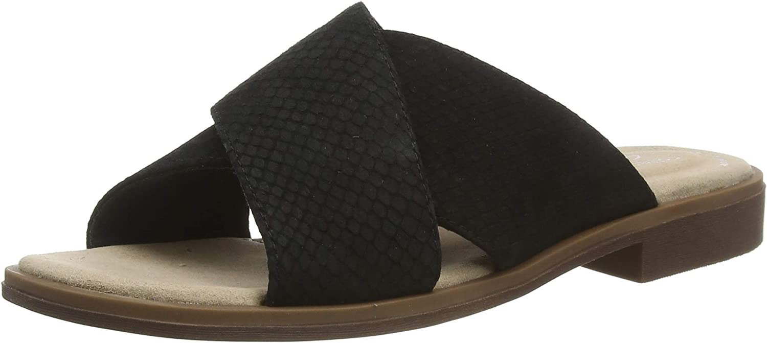 Clarks Award Women's Declan Ivy Closed Grey Toe Sandals Snake Super Special SALE held Taupe