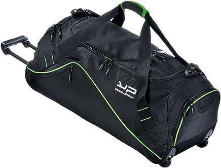 f01d400ecf BODYPACK Sac de Sport Noir et Vert 75L avec Une Poche Bouteille jusqu'à 1