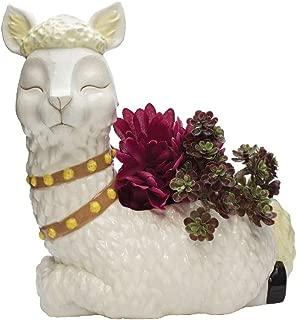Streamline Alpaca Decorative Ceramic Planter Pot