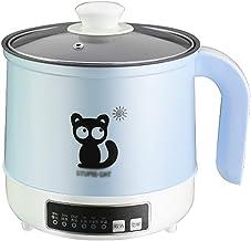 Rice Cooker Multifunctionele mini-rijstkoker, 1,7 l / 600 W, automatisch warmtebehoud, voor 1-2 personen (kleur: C)