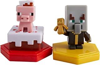 MINECRAFT Earth BOOST MINI FIGURES 2-PACK NFC-Chip Toys, Earth Augmented Reality Mobile Game, Based on Minecraft Video Gam...