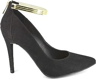 Best anne michelle black strappy heels Reviews