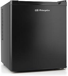 """Orbegozo NVE 4500 B - Nevera eléctrica, refrigeración termoeléctrica, sistema """"No Frost"""", patas ajustables, luz LED interna, 70 W, 38 L"""