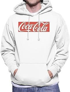 white coca cola hoodie