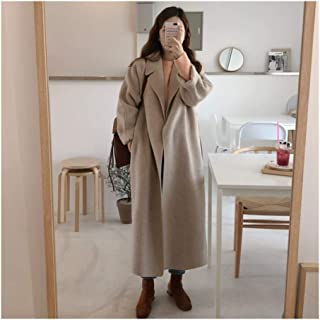 LUKEEXIN Women Winter Long Overcoat Outwear Coat Loose Plus Size Cardigans Long Sleeve Manteau Femme Hiver Elegant