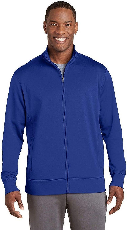 SPORT-TEK Sport-Wick Fleece Full-Zip Jacket F20