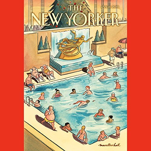 The New Yorker, January 11th 2016 (Katherine Zoepf, Tad Friend, Thomas Mallon) audiobook cover art