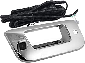 Videosystem Chevy Silverado and GMC Sierra Rear View Camera Backup Tailgate Handle Camera for Chevy Silverado and GMC Sierra Years 2007-2013,Tailgate Door Handle Replacement Camera(Color: Chrome)