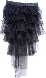 Womens Half Bustle Tulle Tutu Skirts Burlesque Chemise Clubwear Rave Party Dress
