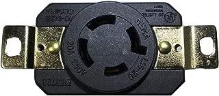 POWERTRONICS CONNECTIONS, (TM),NEMA L15-20R Locking Receptacle 250V, 20A