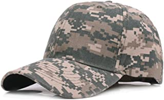 Bullidea Adjustable Baseball Cap Unisex Camouflage Sun Hat Dome Sports Travel Cap Hip Sunscreen
