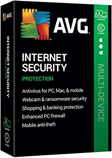 AVG Technologies AVG Internet Security 2020, 3 Devices 2 Year 2020