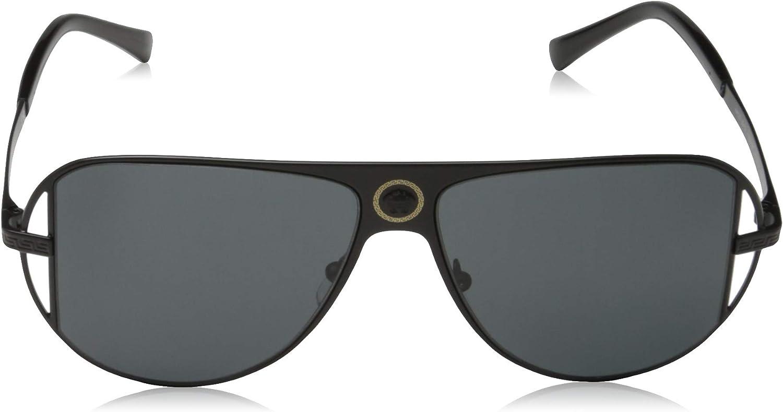 Versace VE2212 Sunglasses 100987-57 -, Grey VE2212-100987-57