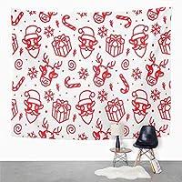 多機能壁掛けツリータペストリークリスマスかわいい牛タペストリー寝室の部屋の装飾壁掛け壁アートタペストリーピクニックマットビーチタオルベッドカバー