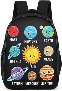 Solar System Planet Mochila ligera para adolescentes y adultos, bolsas escolares para niños y niñas, regalos para niños