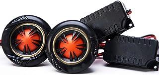 Car Tweeter Speaker Silk Dome Tweeters Audio Component Tweeters Premium Speaker System 1-Inch Tweeter Kit Original Sound P...