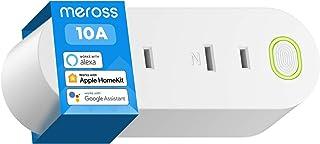 【Apple製品対応】Meross WIFIスマートプラグ スマホのSiriで家電を操作 全主要スマートスピーカー対応 HomeKit, Amazon Alexa, Google Home 2個口1個入り