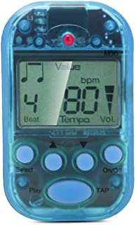 Pasamer Digital Metronome, Meideal Mini LCD Digital M50 Metronome Beat Tempo Guitar Music Accessory with Battery(Blue)