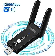 1200Mbps Adaptador WiFi USB, Receptor WiFi Dongle Inalá