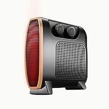 ZP-Heater Calefactor Portátil Eléctrico Mini Calefactor Silencioso con Calentador Rápido de Cerámica PTC con Viento Calor y Natural, Ventilador Calentador, Oscilación Automática