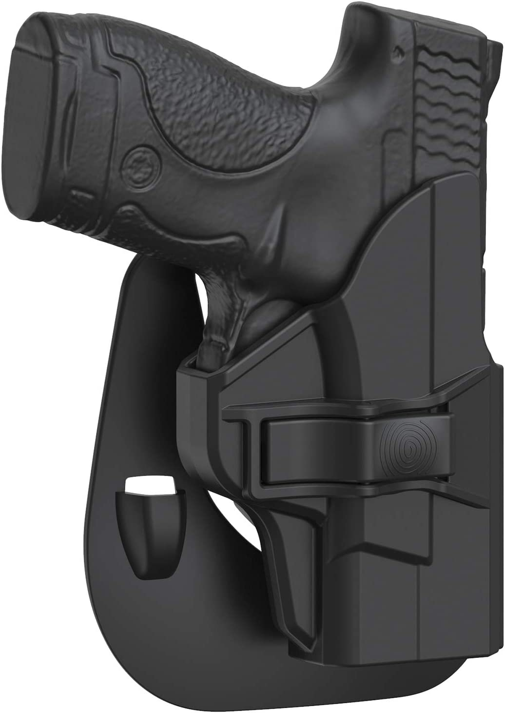 Tulsa Mall MP Shield Tucson Mall 9mm Holster OWB fit Paddle Smith 3.1