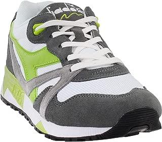 Diadora Mens N9000 Iii Casual Sneakers, Green;Grey;White, 11.5
