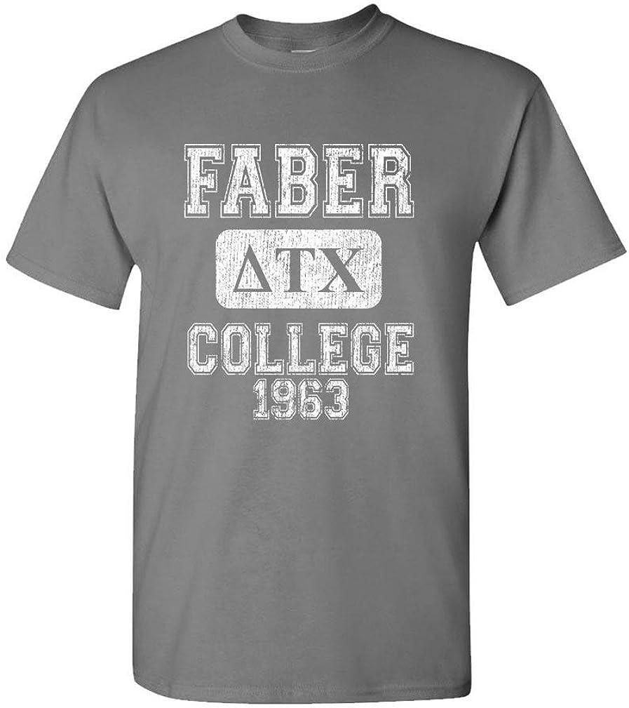 Faber College - Delta Tau chi Belushi House - Mens Cotton T-Shirt