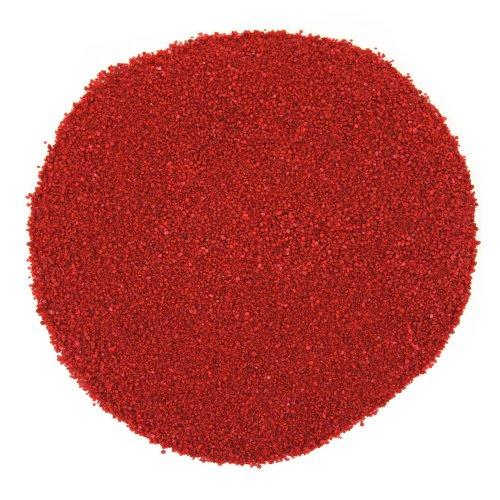 Koyal Wholesale Vasenfüller, dekorativer Sand, 0,6 kg, Rot