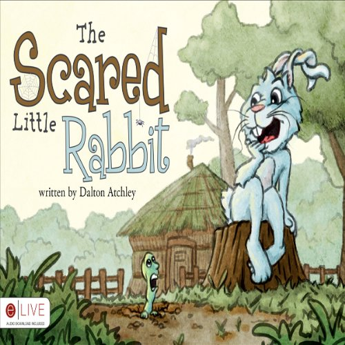 The Scared Little Rabbit audiobook cover art