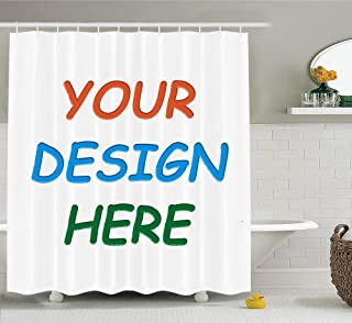 Professional Custom Shower Curtain (69x70'' Shower Curtain)