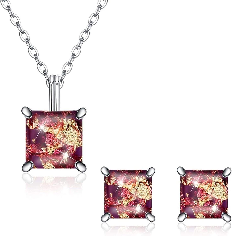 Daesar Low price Bargain 925 Sterling Silver Necklace Women Jewelry Sets Earrings