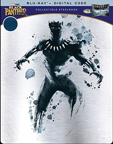 Black Panther Limited Edition Steelbook (Blu-Ray+Digital Code)
