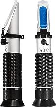 0-32% Brix Meter Refractometer,V-Resourcing Portable Hand Held Refractometer for Sugar Content Test