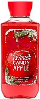 Bath & Body Works Shea & Vitamin E Shower Gel Winter Candy Apple