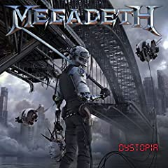 Megadeth, Dystopia (LP) Track Listing:1 The Threat Is Real 2 Dystopia 3 Fatal Illusion 4 Death from Within 5