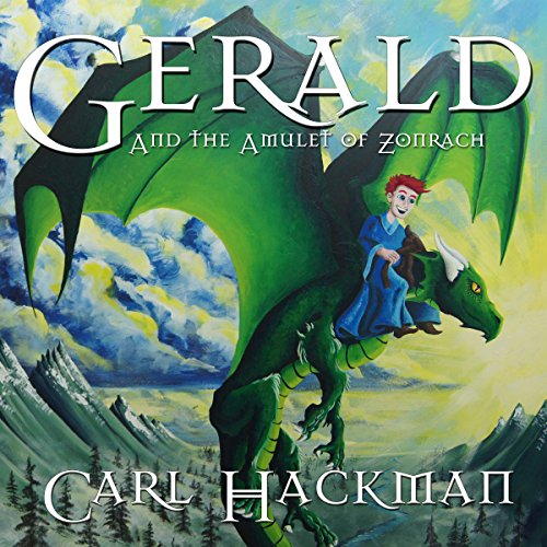 Gerald and the Amulet of Zonrach audiobook cover art