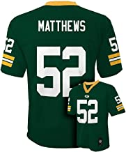 Outerstuff Clay Matthews Green Bay Packers #52 NFL Youth Green Jersey