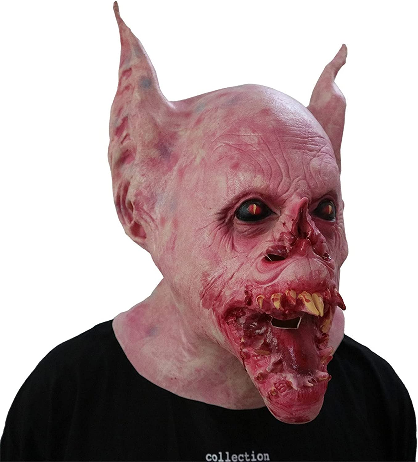 Scary Halloween Mask Party Max 58% OFF Latest item Props Costume Creepy C