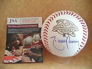 Randy Johnson Autographed Ball - 2001 World Series M l Wpp073445 - JSA Certified - Autographed Baseballs
