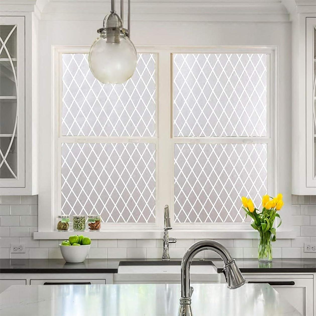 チャーター定規圧倒的窓のステッカー静電気のガラスフィルムの不透明なドアおよび窓のステッカーライト窓のステッカー