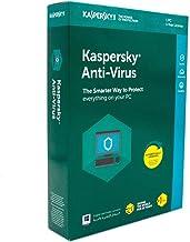 برنامج كاسبرسكاي مضاد للفيروسات 1 مستخدم مع 1 اصدار اضافي 2018