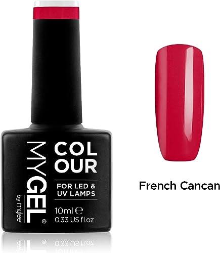 Vernis à ongles MyGel, de MYLEE (10ml) MG0006 - French Cancan Manucure UV / LED Nail Art Pédicure pour un usage profe...