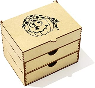 Azeeda  Pirate Pumpkin  Vanity Case Makeup Box  VC00020481