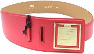 Luxury Fashion | Elisabetta Franchi Womens MCBI39228 Red Belt | Season Outlet