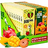Snacks Variety Pack for Kids Adults - 72 Bulk Healthy Fruit Roll Ups - Gluten-Free Vegan Low Carb Natural Fruit Snacks Individual Packs for Kids and Adults with Fresh Mango Apple and Pear No Sugar